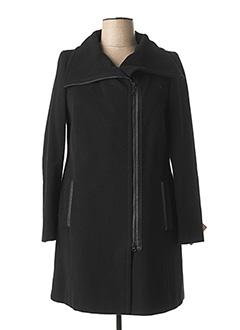 Manteau long noir FUCHS SCHMITT pour femme