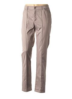 Pantalon chic beige FUEGO WOMAN pour femme
