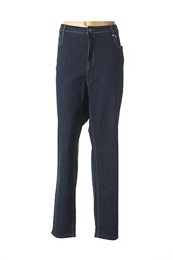 Jeans coupe slim bleu TELMAIL pour femme