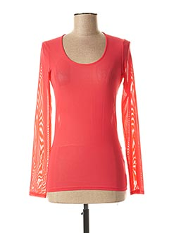 Top rouge CASSIOPEE pour femme