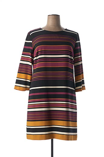 Robe mi-longue violet DIVAS pour femme