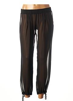 Pantalon 7/8 noir BLEU BLANC ROUGE pour femme