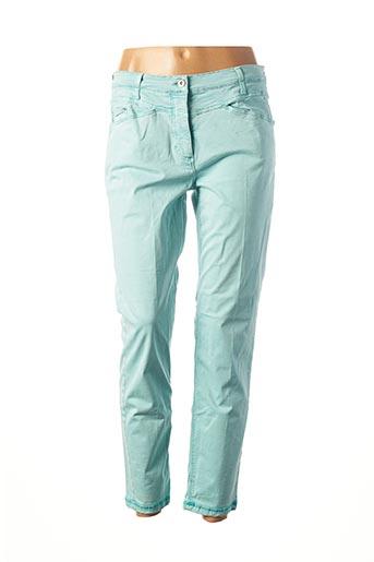 Pantalon 7/8 vert BETTY BARCLAY pour femme