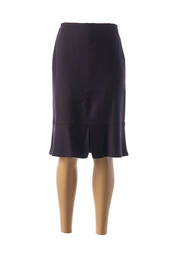 Jupe mi-longue violet GERARD DAREL pour femme