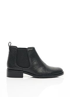 Bottines/Boots noir COSMOPARIS pour femme