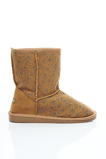 Bottines/Boots marron CANGURO pour femme