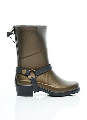 Bottines/Boots marron AIGLE pour femme