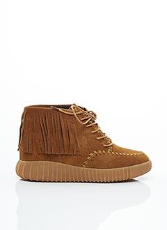 Bottines/Boots marron COOLWAY pour femme