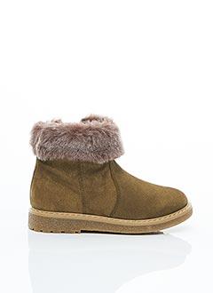 Bottines/Boots marron UNISA pour fille