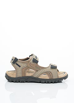 Sandales/Nu pieds marron GEOX pour homme