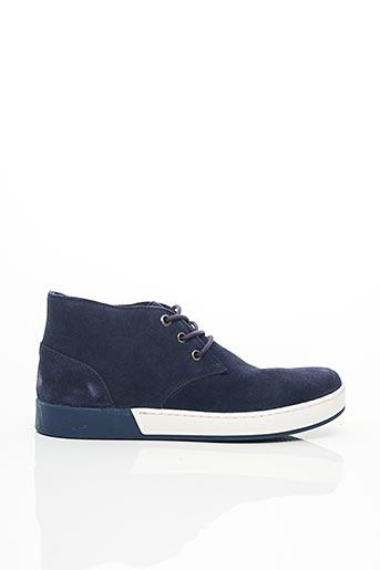 Bottines/Boots bleu AIGLE pour homme