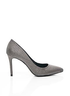 Escarpins gris COSMOPARIS pour femme