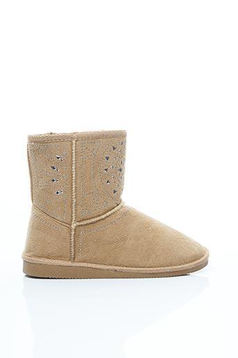 Bottines/Boots beige ASSO pour femme