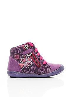 Baskets violet AGATHA RUIZ DE LA PRADA pour fille