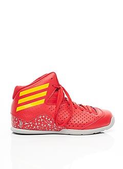 Baskets rouge ADIDAS pour unisexe