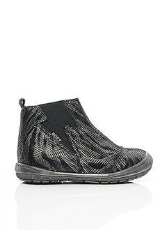 Bottines/Boots gris BOPY pour fille