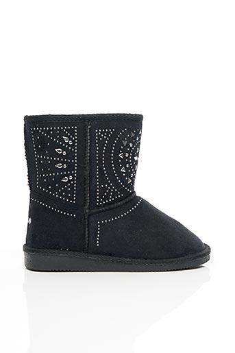 Bottines/Boots noir ASSO pour fille