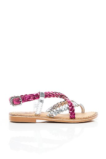 Sandales/Nu pieds rose GIOSEPPO pour fille