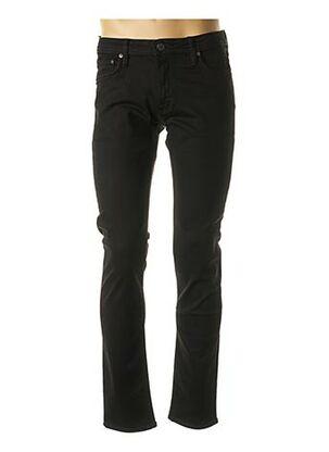 Jeans coupe slim noir JACK & JONES pour homme