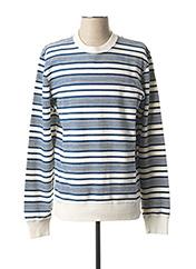 Sweat-shirt bleu JACK & JONES pour homme seconde vue