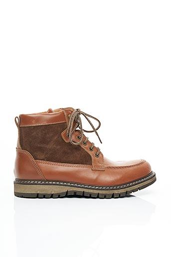 Bottines/Boots marron SARENZA pour homme