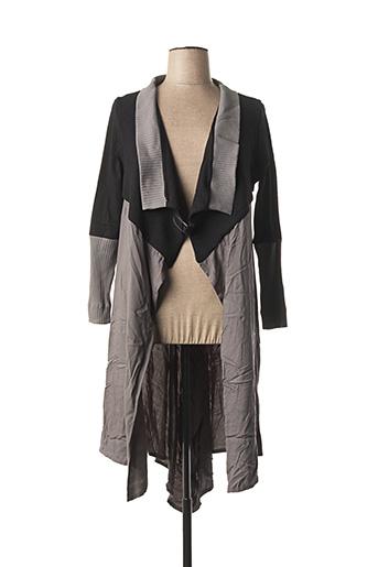 Veste casual gris MAT. pour femme