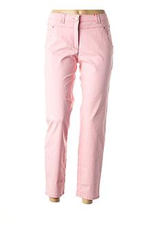 Pantalon 7/8 rose JOCAVI pour femme
