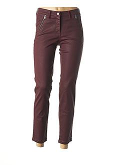 Pantalon 7/8 violet JOCAVI pour femme