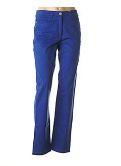 Pantalon casual bleu JOCAVI pour femme