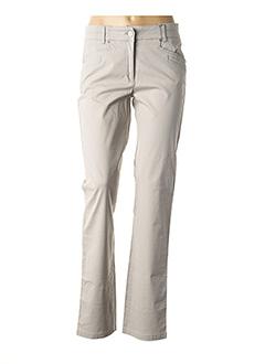 Pantalon casual gris JOCAVI pour femme