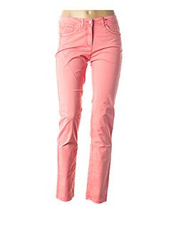 Pantalon casual rose JOCAVI pour femme
