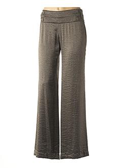 Pantalon casual marron AVENTURES DES TOILES pour femme