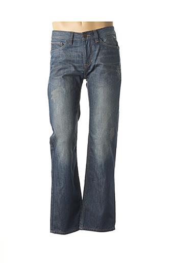 Jeans coupe droite bleu TOM TAILOR pour homme