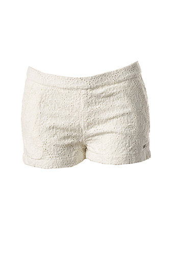 Short blanc TOM TAILOR pour fille