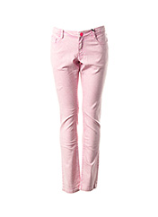 Jeans coupe slim rose SORRY 4 THE MESS pour fille seconde vue