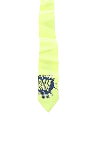 Cravate jaune BILLYBANDIT pour garçon