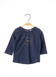 T-shirt manches longues bleu TOM TAILOR pour fille