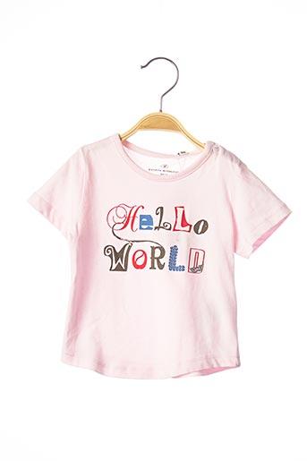 T-shirt manches courtes rose TOM TAILOR pour fille