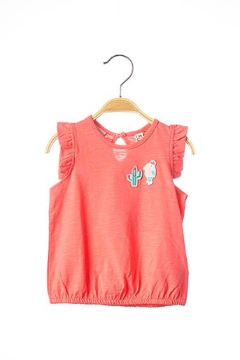 Top rose TOM TAILOR pour fille