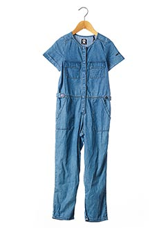 Combi-pantalon bleu SORRY 4 THE MESS pour fille