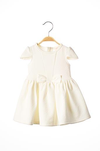 Robe mi-longue blanc BILLIEBLUSH pour fille