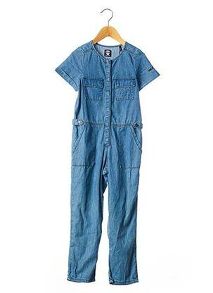 Combi-pantalon bleu SORRY 4 THE MESS pour fille