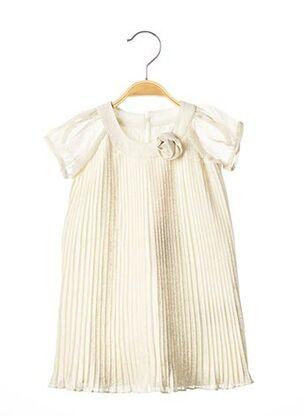Robe mi-longue beige BILLIEBLUSH pour fille
