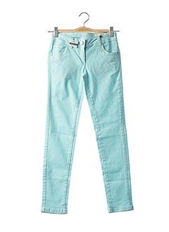 Pantalon casual bleu TOM TAILOR pour fille