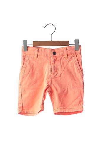 Bermuda orange BILLYBANDIT pour garçon