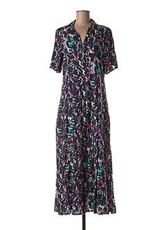Robe longue violet ESPRIT DE LA MER pour femme