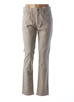 Pantalon casual beige KANOPE pour femme