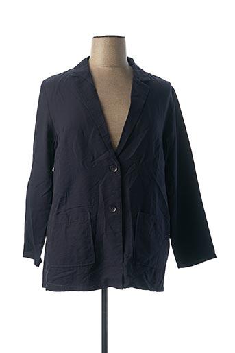 Veste casual bleu CHRISTY pour femme
