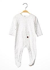Pyjama blanc ABSORBA pour enfant seconde vue