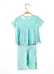 Top/pantalon bleu BOBOLI pour fille seconde vue